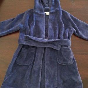 Pottery Barn kids hooded robe.
